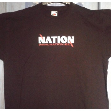 T-shirt NATION noir