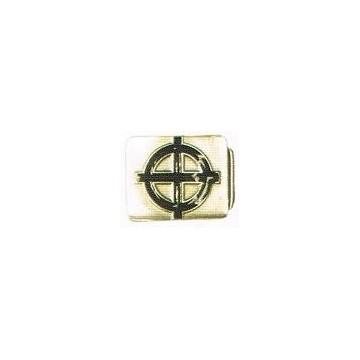 Boucle de ceinture croix celtique noir