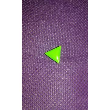 Pin's triangle vert anti Charia